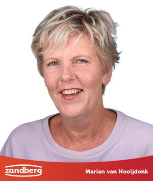 Personeel, Marian van Hooijdonk - Zandberg B.V.