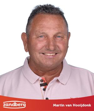Personeel, Martin van Hooijdonk - Zandberg B.V.