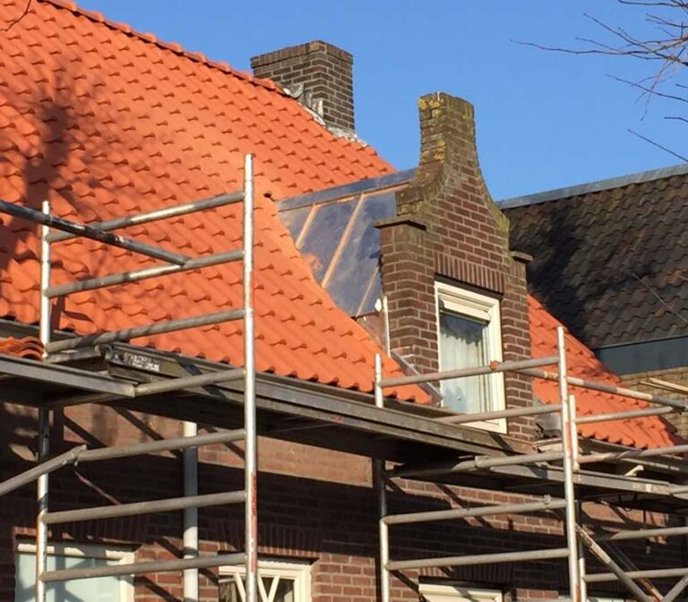 Zink en dakbedekking in stijgers, Fels Banen 5, Rijen - Zandberg B.V.
