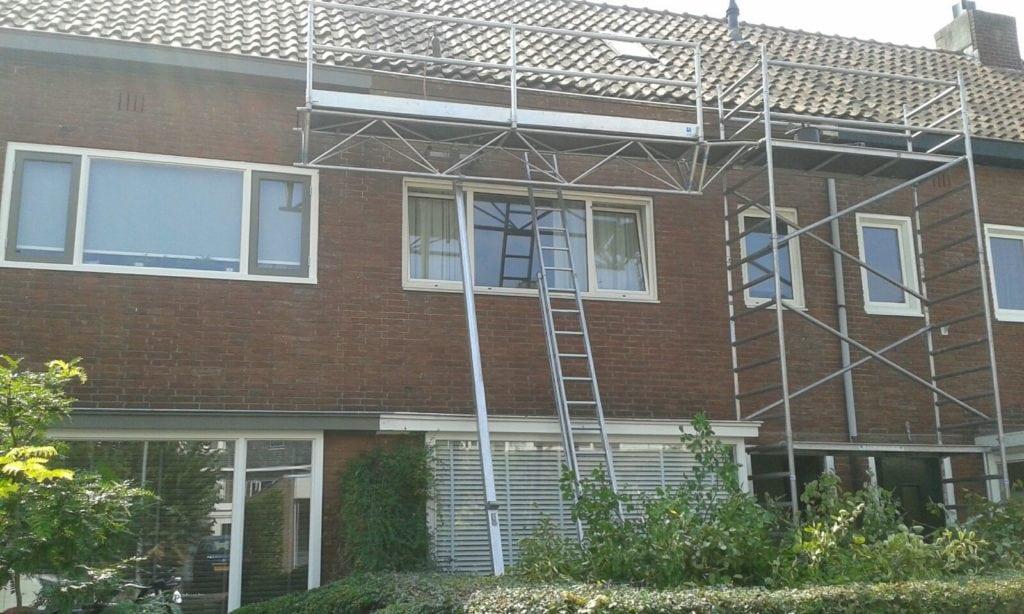 Zink en dakbedekking tijdens, Vondelstraat 45, Breda - Zandberg B.V.