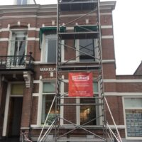 Zink en dakbedekking stijgers, Heuvel 4, Breda - Zandberg B.V.