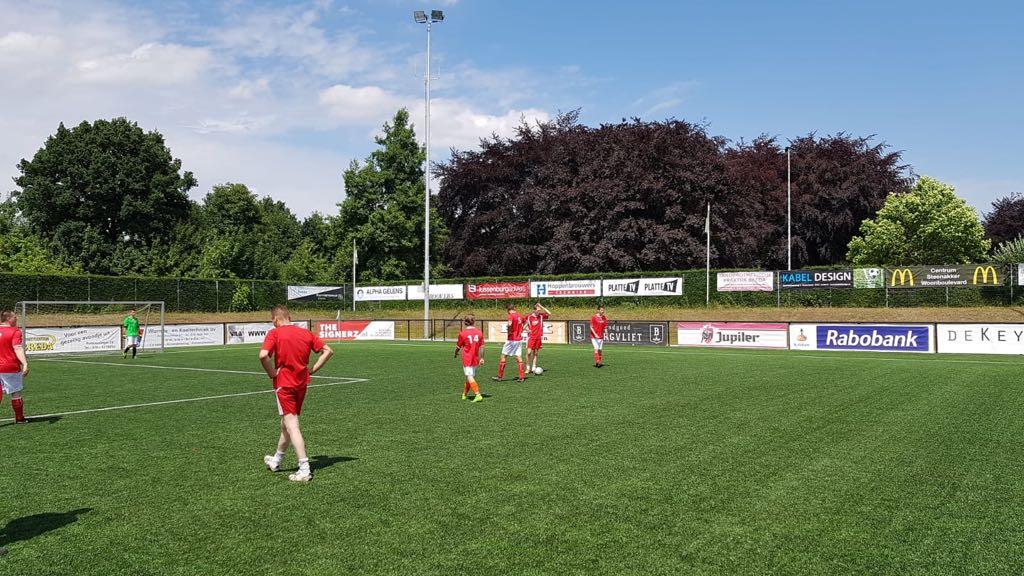 Bouwvakkers voetbaltoernooi - Zandberg B.V.