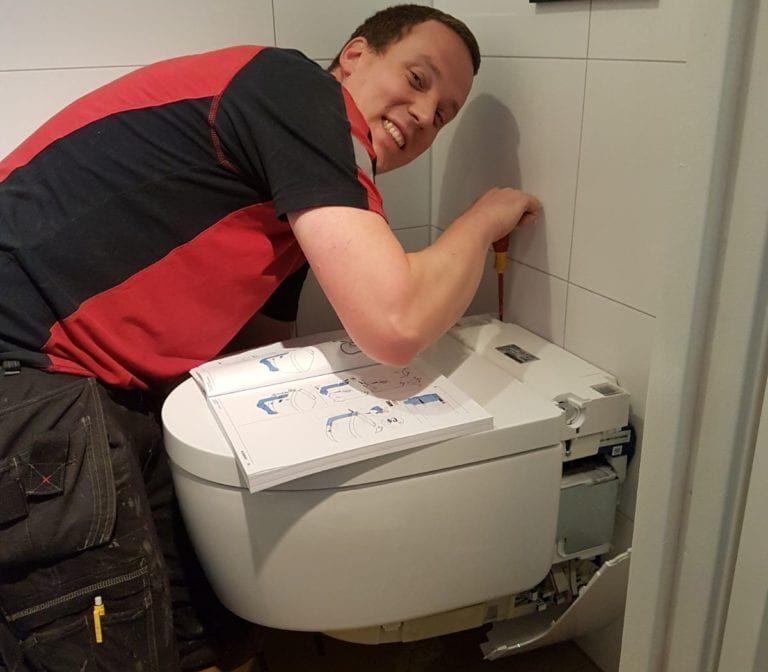 Toiletrenovatie toilet afmontage, Valkenierslaan, Breda - Zandberg B.V.
