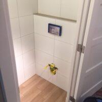 Toiletrenovatie tijdens toiletaansluitingen, Valkenierslaan, Breda - Zandberg B.V.