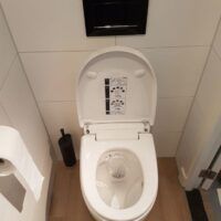 Toiletrenovatie eindresultaat toilet, Valkenierslaan, Breda - Zandberg B.V.