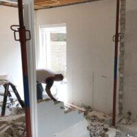 Keukenrenovatie tijdens muur openbreken, Teteringen - Zandberg B.V.