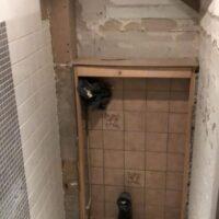 Toiletrenovatie tijdens toilet - Zandberg B.V.