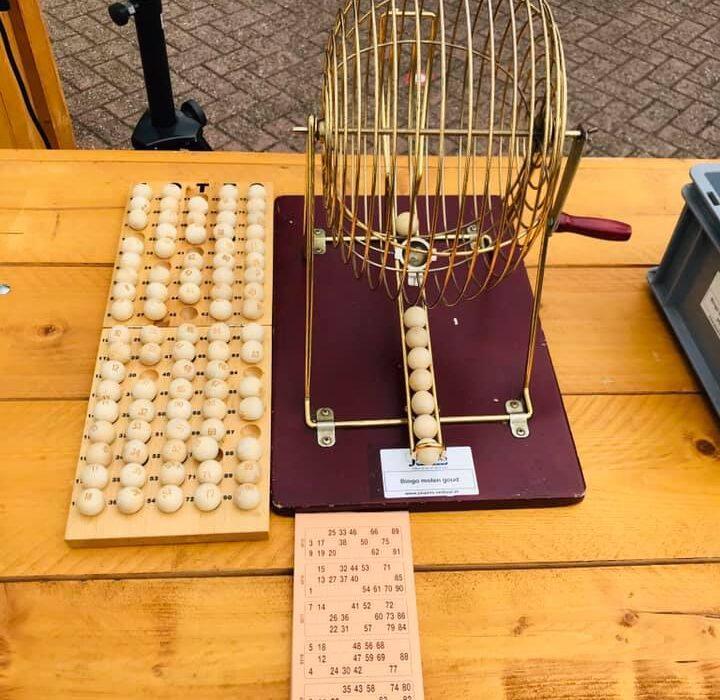 Bouwvak borrel 2020 - bingo - Zandberg B.V.