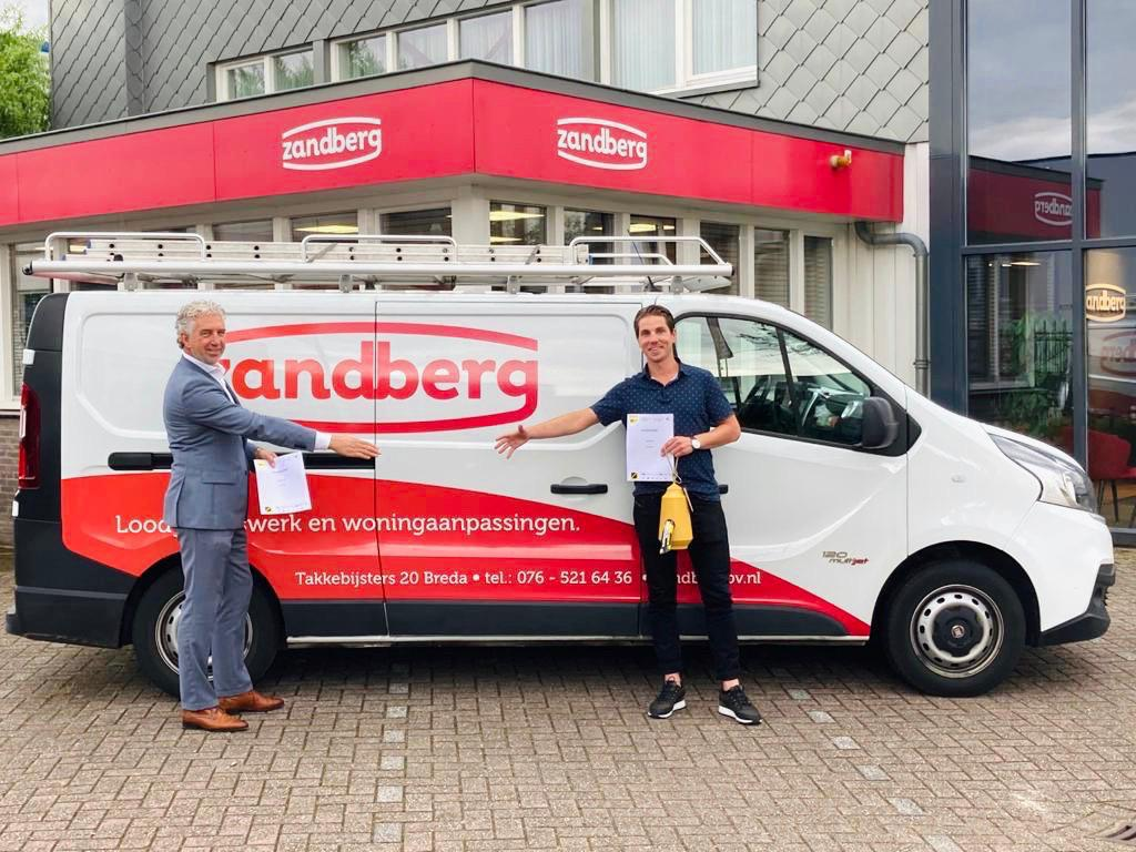 Zandberg BV verlengt sponsorcontract NAC Breda