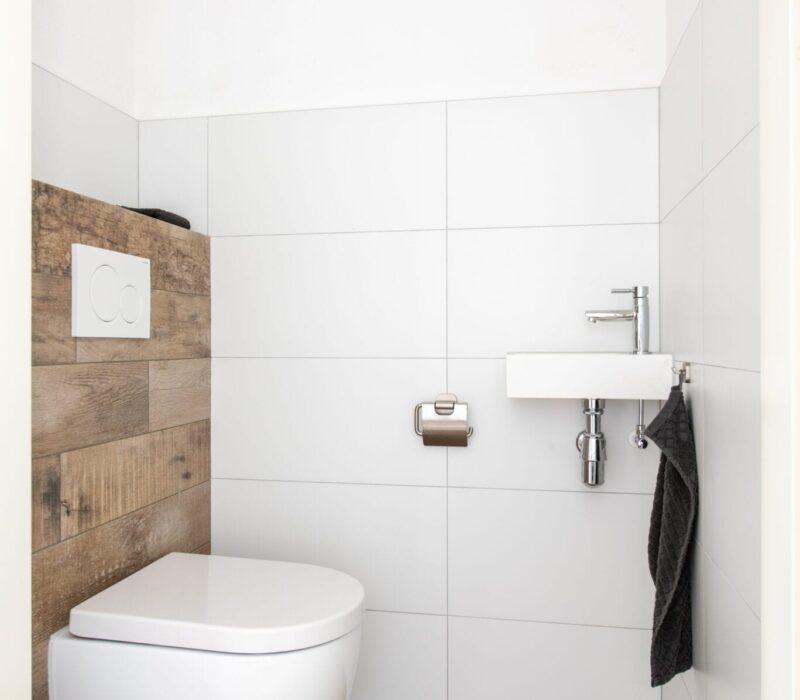 Badkamerrenovatie Etten-Leur toilet - Zandberg BV